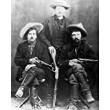 Quality digital print of a vintage photograph - Cattle Rustlers 1887.. Black & White 8x10 inches - Luster Finish