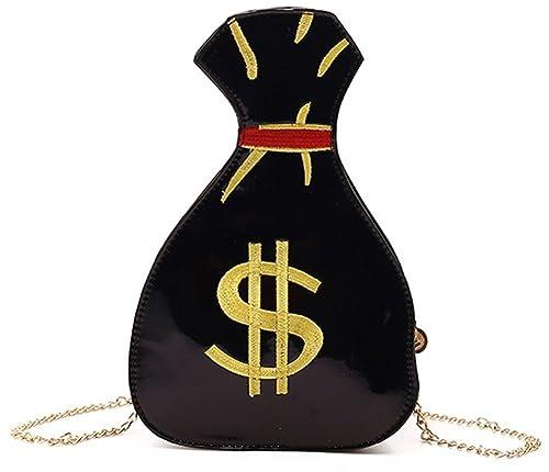 0f44118ea8df QZUnique Women's Pu Hologram Laser My Bag OneSize Black: Amazon.in ...