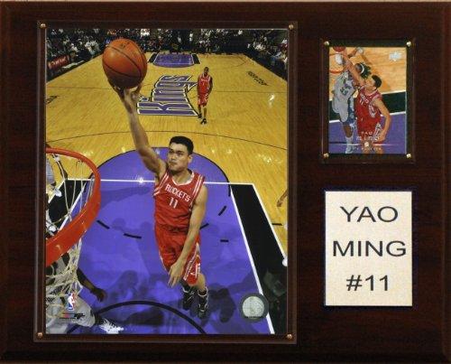 - NBA Yao Ming Houston Rockets Player Plaque