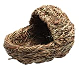 Natural Outdoor Rabbit Hutch Straw Mattress Hand Made Straw House