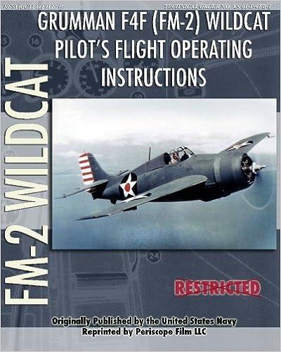 Grumman F4F (FM-2) Wildcat Pilot's Flight Operating Instructions
