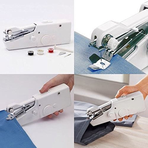 OLIVE US-Mini Portable Smart Electric Tailor Stitch Hand-held Sewing Machine Home - Mall Northwood Stores