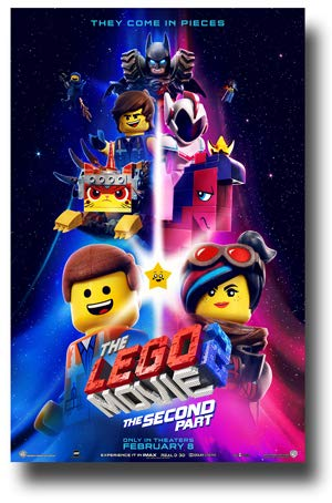 The Lego Movie Part 2 Poster Movie Promo 11 x 17 inches They Come in Pieces 1st