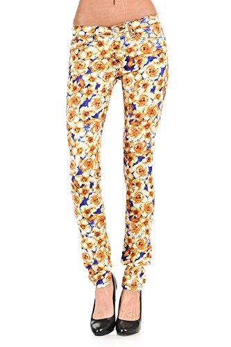 Leopard Print Jeans - 2