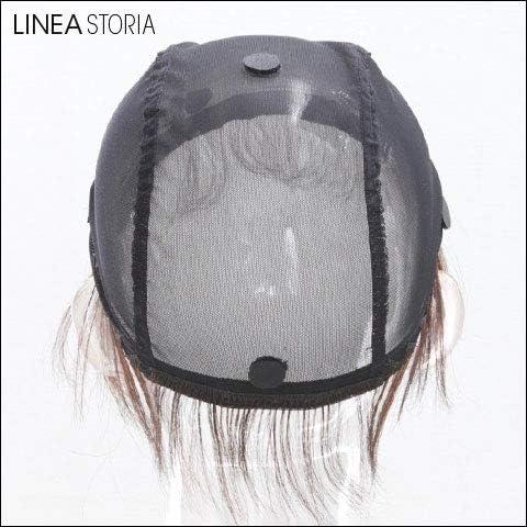 医療用 人毛100% うぶ毛 シリコン付 ウィッグ用アンダーキャップ 人毛100%うぶ毛つきアンダーキャップ