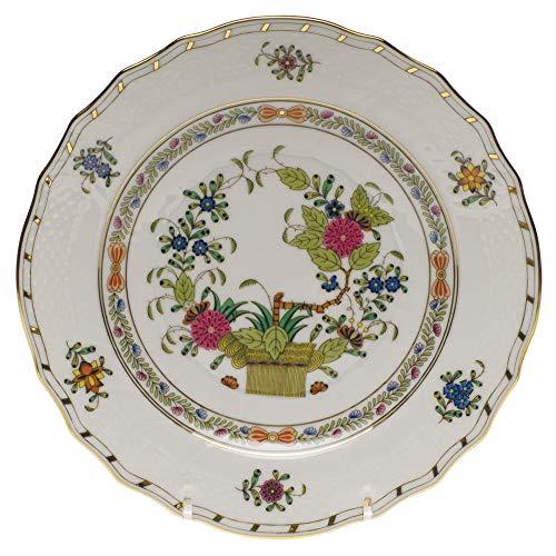 Herend Indian Basket Porcelain Salad Plate