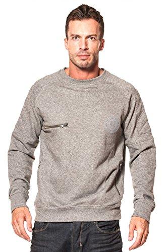 Marl Police Grey Ortiz 883 Sweatshirt xXznxtPw