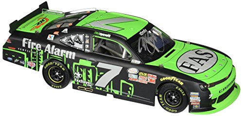 Lionel Racing Reagan Smith # 7 Fire Alarm Services 2015 Chevrolet Camaro Die-cast Car 1:24 Scale (Regan Smith 1 24)