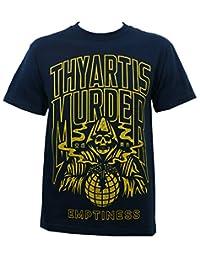 Thy Art Is Murder Men's Stay Bold Emptiness T-Shirt Navy