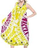 Women Tie Dye Swimwear Beach Dress Caftan Swimsuit Evening Pink, [ONE SIZE]US:14 (L)-28W(4X)