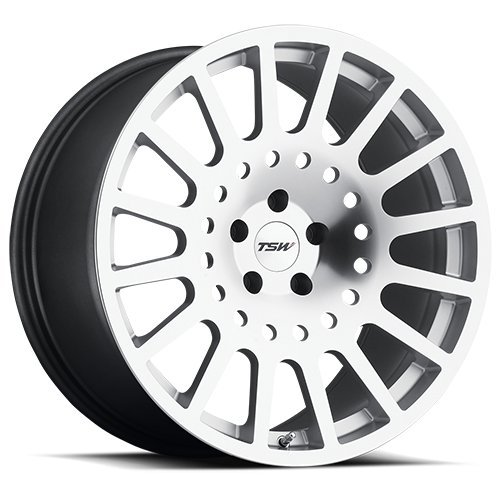 TSW HOLESHOT Silver Wheel with Painted Finish (20 x 9. inches /5 x 112 mm, 35 mm Offset) للبيع