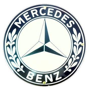 Mercedes Benz Porcelain Sign
