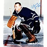 Johnny Bower Autographed 8X10 Photograph - Toronto Maple Leafs