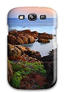 New Arrival Cover Case With Nice Design For Galaxy S3- Canal Rocks