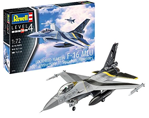 F-16 Mlu Revell: Scale 1:72