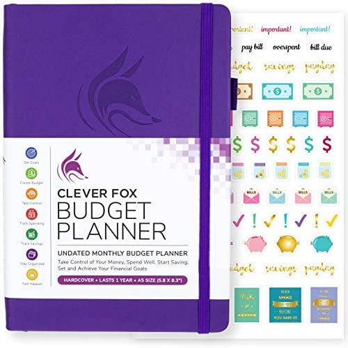Clever Fox Budget Planner Notebook product image
