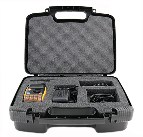 Life Made Better Storage Organizer - Compatible with Baofeng Radio GT-3TP Mark-III Two-Way Radio Transceiver - Durable Carrying Case - Black