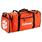 NCAA Team Logo Extended Duffle Bag (Clemson Tigers)