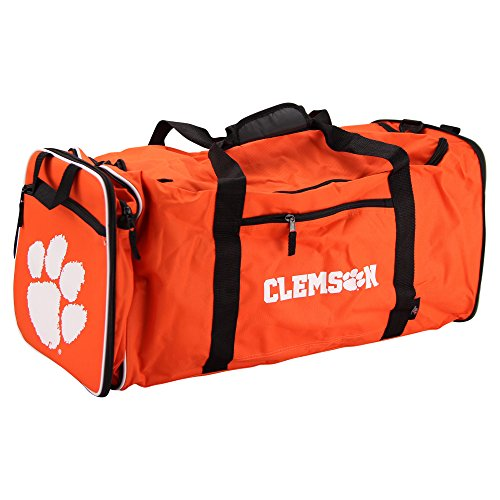 NCAA Team Logo Extended Duffle Bag (Clemson ()