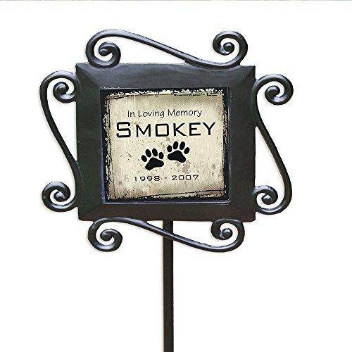 (GiftsForYouNow Pet Memorial Personalized Garden Stake)