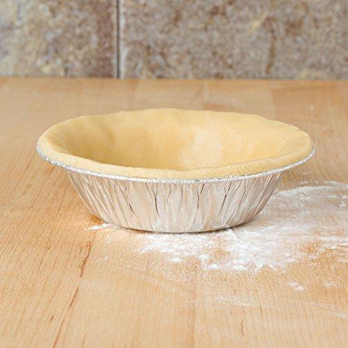 Mt Products 5 Inch Disposable Aluminum Foil Tart Pie Pan