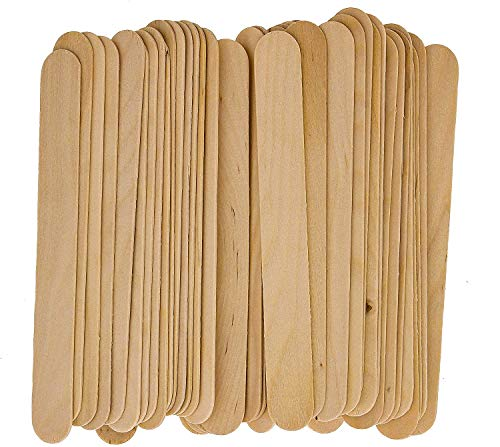 100 Large Wax Waxing Wood Body Hair Removal Sticks Applicator Spatula