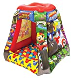 Mickey and The Roadster Racers Ball Pit, 1 Inflatable & 20 Sof-Flex Balls, Red/Blue/Yellow, 37