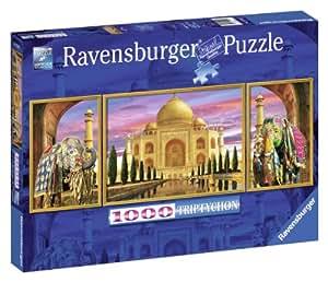Ravensburger 19990 - Puzzle panorámico de 1000 piezas: Taj Mahal