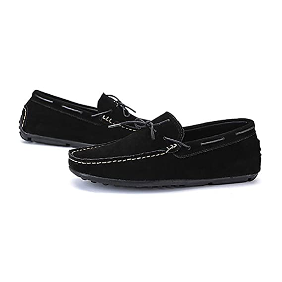Botines/Mocasines y Slip-Ons de Gamuza para Hombre de Primavera/Otoño Zapatos para Caminar Zapatos para Caminar/Zapatos de Conducción/Zapatos Lazy: ...