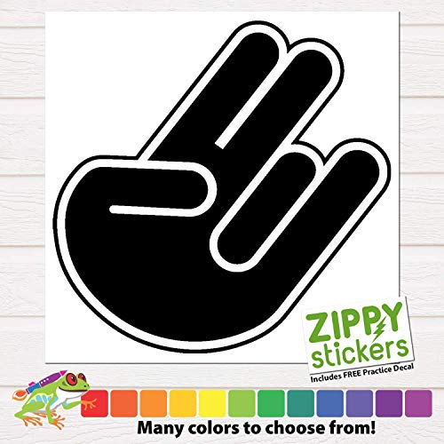2 Pink 1 Stink Vinyl Decal Sticker, Shocker, Two in the pink one in the stink, Shocker Car Laptop Decal Sticker - Many Colors and Sizes to Choose From (Two In The Pink Two In The Stink)