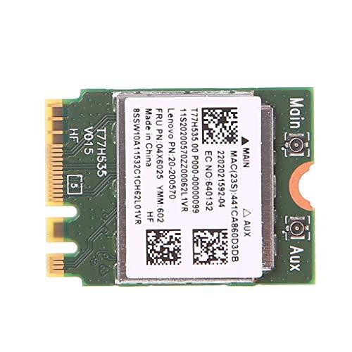 Lvyuanda Wireless WiFi Network Adapter Card for PC, BT 4.0 BN 7260 Wireless WiFi+WLAN Card 300M 04X6011 04W3815 for Lenovo Thinkpad -