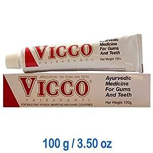 Pack of 3 - VICCO Vajradanti Thoothpaste 100g