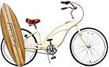 Anti rust light weight aluminum alloy frame Fito Marina alloy 3 speed 26″ wheel womens beach cruiser bike bicycle vanilla Review