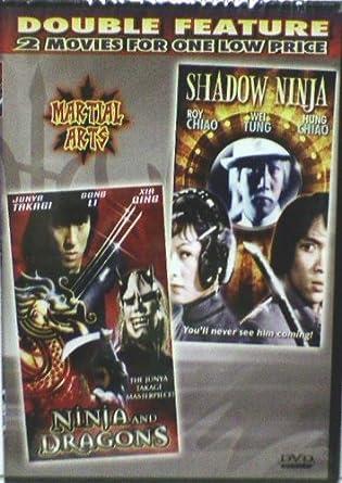NINJA AND DRAGONS SHADOW NINJA *Martial Arts Double Feature ...