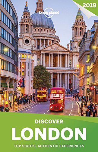 - Lonely Planet Discover London 2019 (Travel Guide)