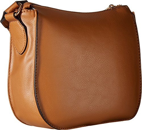 Cognac w Leash Rampage Dog Crossbody Womens Hardware ZwRqvP4
