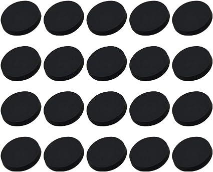 Healifty 20 Piezas Botones Redondos Planos de Metal Abrigos ...