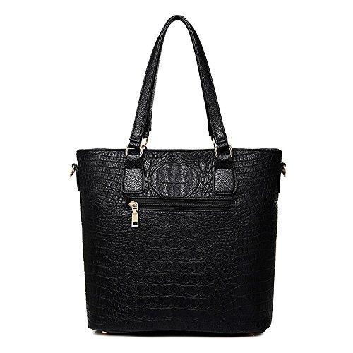 Crocodile Portable Handbag Pattern Shoulder Messenger Zimubaox Bag Mother z6wqn1U