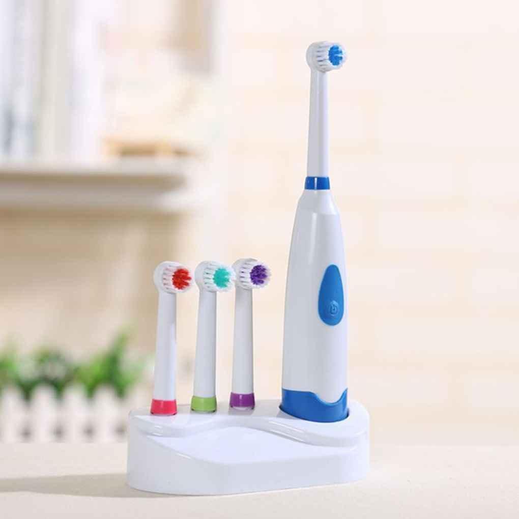 Ben-gi Rotierende elektrische Zahnb/ürste mit 4 K/öpfen Mundhygiene Baby-Kind-Kleinkind-Zahnb/ürste Batteriebetriebene