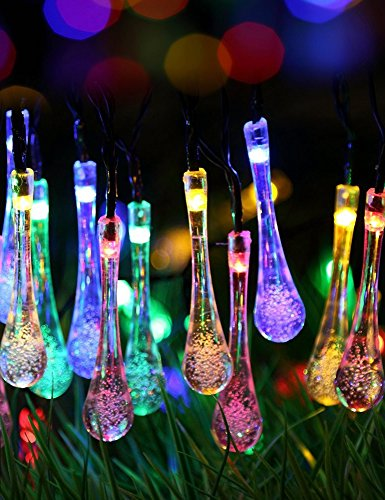 Cheap  Lareinae Solar String Lights, Outdoor Waterproof Fairy Light 19.7ft 30 LED Multi..