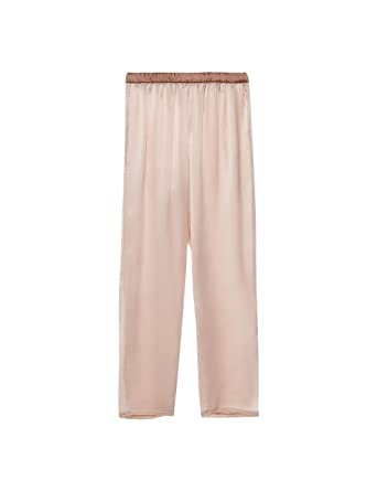 0e8c28de94ff Intimissimi Womens Romantic Ballerina Long Silk Trousers: Amazon.co.uk:  Clothing