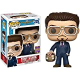 Funko Pop! SDCC 2017 Tony Stark Holding Helmet Limited Edition Summer Convention Exclusive