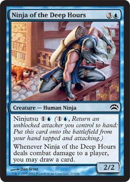 Magic: the Gathering - Ninja of the Deep Hours (21) - Planechase 2012