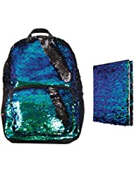 Magic Sequin! Reversible Sequin Mermaid Fashion Backpack & Matching Journal