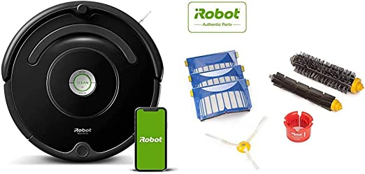 Amazon Com Irobot Roomba 675 Robot Vacuum With Roomba 600 Series Replenishment Kit