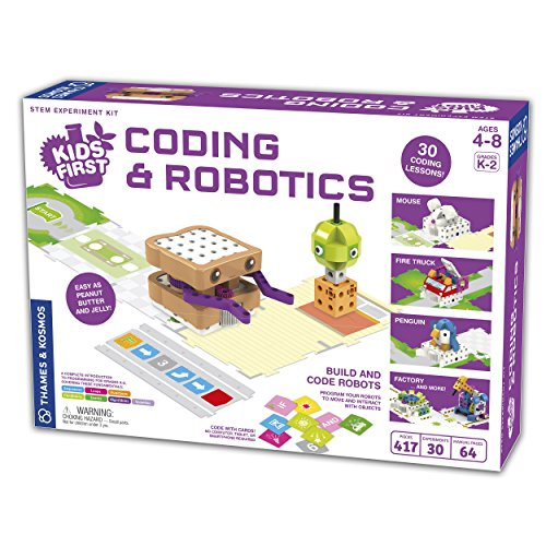 Thames & Kosmos Kids First Coding & Robotics Science Experiment Kit