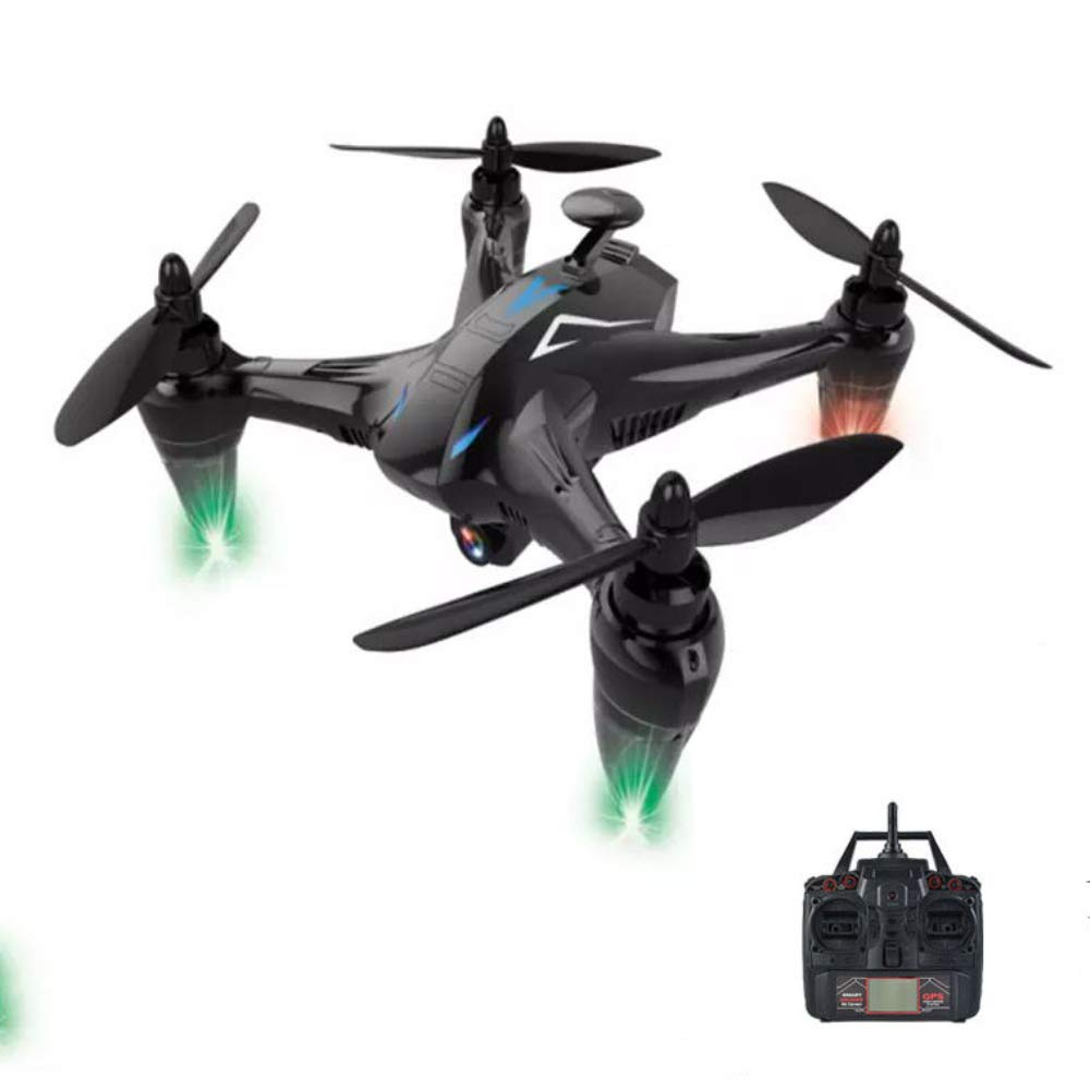 WANGOFUN Helicopter Drone, RC Quadcopter Drone with GPS 1080P HD Camera, Wide Angle, Altitude Hold, Gravity Sensor for Kid Adults 4k Long Flight Time