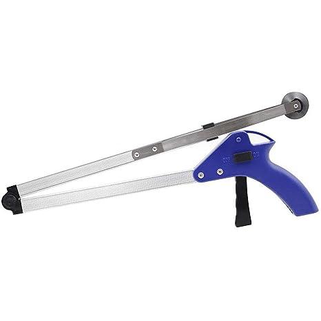 Herramienta para sujetar de 82,5 cm de largo, plegable, aleación de aluminio