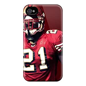 SherriFakhry Iphone 4/4s Bumper Cell-phone Hard Covers Provide Private Custom Colorful San Francisco 49ers Pattern [OWp18739EyvI]