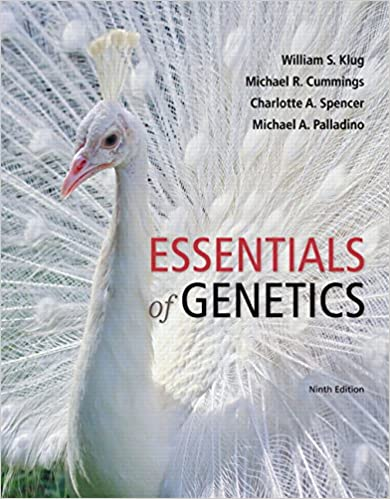 Concepts Of Genetics 10th Edition Pdf